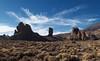 Roques de Garcia Backlit (DrupkaTheUnclear) Tags: vilaflor tenerife spain winter ash lava blue cirrus cloud backlit scrub dry dusty yellow volcanic altitude