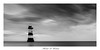 Lone Lighthouse. (EXPLORED) (michaelmckenna11) Tags: flickr fav10 fav20 fav40 fav30 fav50 fav60 fav70 fav90 fav80 fav100 lighthouse bnw bnwphoto