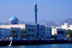 Oman (ClaDae) Tags: oman muscat corniche mosque waterfront