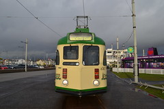 Blackpool Transport Brush Car 630 (Will Swain) Tags: blackpool 7th october 2017 tram trams light rail railway rails transport travel europe tramway north west coastal coast town lancs lancaster brush car 630