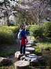 P1030972 (amipal) Tags: day9 garden japan jen kyoto steppingstones