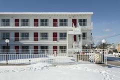 Cardinal Motel. (stevenbley) Tags: wildwood wildwoodcrest northwildwood nj newjersey beach winter snow offseason hotel motel january shore jerseyshore cardinal cardinalmotel