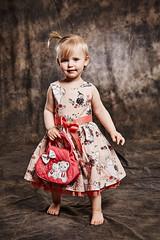 Young lady (LalliSig) Tags: gray brown kid kids portrait portraiture studio people iceland photographer barn börn barnamyndataka