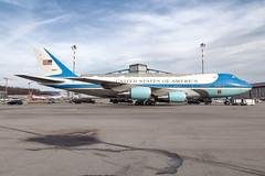 92-9000 United States Air Force Boeing VC-25A (B747-200) (buchroeder.paul) Tags: 929000 united states air force boeing vc25a b747200 zrh lszh zurich airport switzerland europe ground