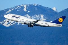 CYVR - Lufthansa B747-400 D-ABVO (CKwok Photography) Tags: yvr cyvr lufthansa b747 dabvo