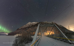 The view part 2 (Traylor Photography) Tags: alaska aurora northernlights abandoned knikriver winter bridge butte milkyway palmer footprints fog panorama oldglennhighway perspective anchorage unitedstates us
