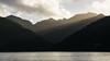 Sun rays over Mt Hobson (NettyA) Tags: 2018 aucklandregion greatbarrierisland mthobsonhike nz newzealand northisland mthobson clouds sailing sunrise haurakigulf sunrays layers water