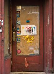 """""""Enough Hate"""" Greenwich Village, NYC. (setpower1) Tags: newyorkcity nyc greenwichvillage sonya7ii le leica50mmf2summicron graffiti"""