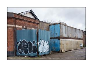 Graffiti, East London, England.