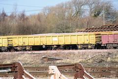 503096 Hoo Junction 160218 (Dan86401) Tags: hoojunction 503096 mla bogie open ballastbox wagon freight greenbrier nr networkrail yellowtailsnapper fishkind engineers departmental infrastructure