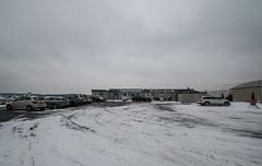 EGLK under a blanket of snow (lynothehammer1978) Tags: blackbusheairport eglk bbs blackbushe thebushecafe