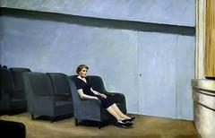'Intermission' by Edward Hopper (Greatest Paka Photography) Tags: intermission edwardhopper artist art painting museum sfmoma museumofmodernart realism portrait cinema theatre solitude seats sanfrancisco