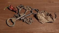 Keys (N.the.Kudzu) Tags: home tabletop stilllife keys jalapeno canon70d