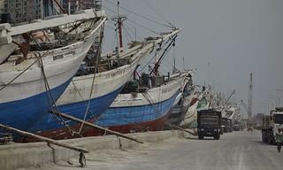 Indonesien, JAVA , Jakarta - Frachtenseglerhafen  Sunda Kelapa , 17016/9462