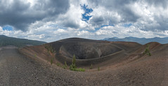 Cinder Cone (acase1968) Tags: 10photo photomerge panorama lassen cinder cone national park volcanic nikon d750 nikkor 24120mm f4g clouds california