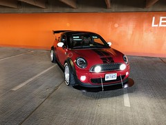 FIA hillclimb mini (jeepkid703) Tags: f56 headlights bmw mini cooper coupe r58 fia rally hillclimb downforce wing splitter toyo tires r888r boost jcw clinched flares clinchedflares meaty german power leds euro spec fenders widebody wide body diffuser