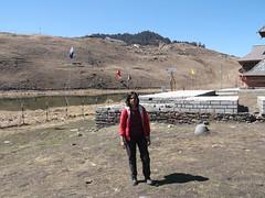 Rishi Parasar Lake near Mandi, Himachal- 286 (Soubhagya Laxmi) Tags: himachaltourismhptdc himalayanmountainhindureligion hindupilgrimagetemplehimalay mandihimachalpradesh mandisightseeing parasartemplelakemandi rishiparasarlakemandi rishiparashartempleandlake soubhagyalaxmimishra umakantmishra rishi parasar lake mandi himachal