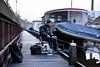 Sport fisherman (Dannis van der Heiden) Tags: fisherman harbor port fishing rod angling eemhaven amersfoort netherlands ship boat quay jetty rig d750 water river tamron2470mmf28