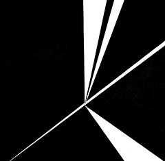 Quadrant I (1957) -  José de Almada Negreiros (1893-1970) (pedrosimoes7) Tags: josédealmadanegreiros caloustegulbenkianmuseum moderncollection lisbon portugal geométrico geometrique geometric blackandwhite blackwhite artgalleryandmuseums