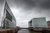 Nachbarschaft (Beppe Rijs) Tags: deutschland hamburg hafencity gebäude fassade spiegel architektur wolkenkratzer himmel stadt deichtorcenter
