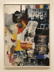 Estate, 1963, oil & silkscreen ink on canvas (Igor Clark) Tags: sanfrancisco california sfmoma robertrauschenberg rauschenberg