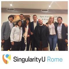 SingularityU Rome Chapter - Dinner (1)