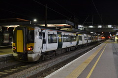 Great Northern Electrostar 387107 (Will Swain) Tags: london kings cross station 17th november 2017 greater capital city south east train trains rail railway railways transport travel uk britain vehicle vehicles country england english peterborough great northern electrostar 387107 class 187 107