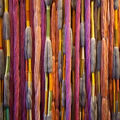 Lianes de Beauvais (Gerard Hermand) Tags: 1802122129 gerardhermand france paris canon eos5dmarkii formatcarré sheilahicks lianesdebeauvais detail centrepompidou beaubourg musée museum lin linen coton cotton laine wool soie silk nylon