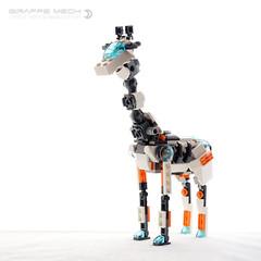 Giraffe Mech (dvdliu) Tags: lego amoc moc creator 31034 animal creature mecha mech giraffe