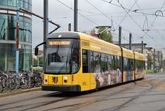 Dresden, Wiener Platz 26.09.2014 (The STB) Tags: tram tramway strassenbahn strasenbahn streetcar dresden dresde publictransport öpnv citytransport tranvía
