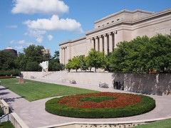 (procrast8) Tags: kansas city mo missouri nelson atkins art museum thinker auguste rodin shuttlecock storage judith shea claes oldenburg coosje bruggen sculpture