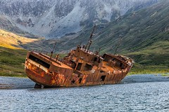 Kamchatka Shipwreck - j80_10067-ps1 (Jacques de Selliers) Tags: kamchatka kamtchatka kamchatka2014 deselliers jacquesdeselliers bay fjord morzovaiabay shipwreck russia russianfederation