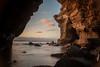 SunsetcliffCave- (emceegrady) Tags: sandiego sunset cliffs cave ocean beach long exposure hdr high dynamic range
