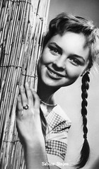 Sabine Sinjen (vintage ladies) Tags: vintage portrait people postcard actress photograph photo sabinesinjen female portriat pretty beauty lovely eoshe