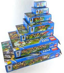 LEGO City Jungle All Sets 02 (noriart) Tags: lego city jungle all sets
