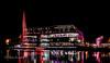 Resorts world by night (Tom Fezz) Tags: waters edge nec resortsworld reflection night longexposure