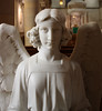 Church of the Guardian Angel (ktmqi) Tags: churchoftheguardianangel chelsea newyorkcity angel marble sculpture church religious font holywater