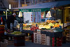 The streets of... Grenoble #20 (richardtostain) Tags: rue street fruits marché primeur market nuit hiver sony a7ii canon 135mm f2