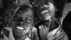 Another Weekend Smile (gunnisal) Tags: africa portraits mozambique smile face boys kids bw blackandwhite monochrome gunnisal