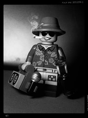 Gonzo (LegoKlyph) Tags: lego brick block mini figure gonzo hunter thompson journalism stories 70s drugs drinking crazy