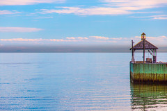 Ah l'automne! (BLEUnord) Tags: automne autumn fall charlevoix stjosephdelarive quai dock fleuve river stlaurent stlawrence eau water
