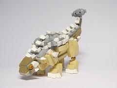 LEGO Ankylosaurus (LuisPG2015) Tags: