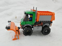 21IMG_20180217_163152 (maxims3) Tags: lego city 60083 snowplough truck снегоуборочная машина traffic обзор review