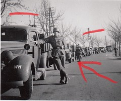 fordv8umbauir24-1 (R58c) Tags: pkw kfz auto fahrzeug car wehrmacht frankreich france 1940 ww2 2wk military vehicle afv softskin ford v8 umbau umbauwagen pritsche