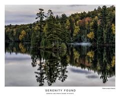 Serentiy Found (AaronP65 - Thnx for over 11 million views) Tags: catherinelake fall ontario canada