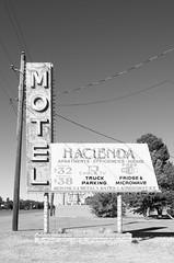 Hacienda Motel (dangr.dave) Tags: architecture deming downtown historic lunacounty newmexico nm haciendamotel neon neonsign