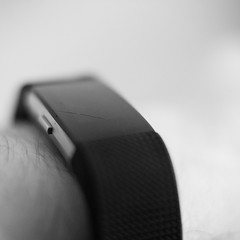 Time on the Hand of Oblivion (andymudrak) Tags: macro 365 photography wrist hand watch time bw squareformat