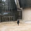 Bilbao Guggenheim (Erik Schepers) Tags: color minimal minimalist composition architecture colour spain bilbao bilbo guggenheim windows people glass stone architect entrance