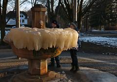 St. Antonius spring in Úšovice (Karel Suchánek) Tags: winter frost snow ice úšovice antoníčkůvpramen antoníček spring lumix lx100