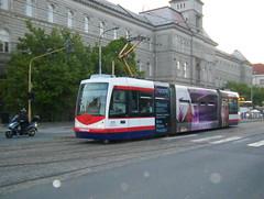 Olomouc tram No. 205 (johnzebedee) Tags: transport tram publictransport vehicle olomouc czechrepublic johnzebedee inekon